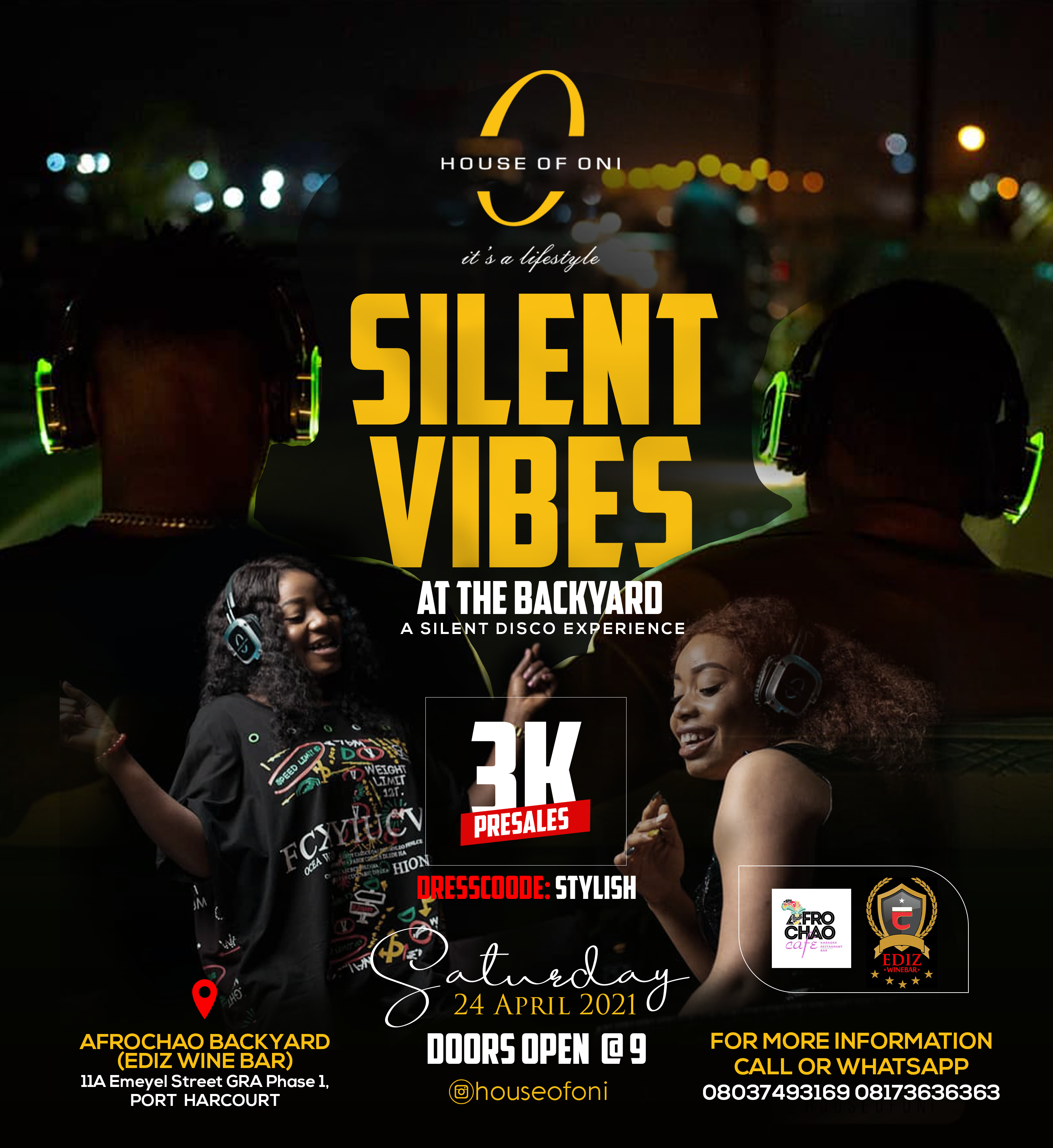 Silent Vibes – A Silent Disco Experience at the Backyard in PH
